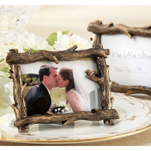 Rustic Tree Branch Photo Frame & Place Card Holder