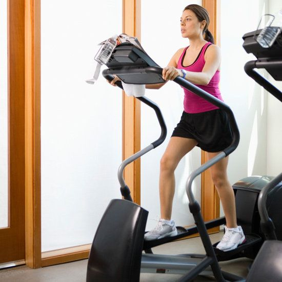 Elliptical Workouts for All Levels.  LOVE how it breaks it down to different areas to work and time constraints!