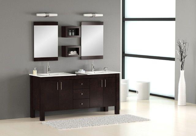 Best 25 Modern Bathroom Lighting Ideas On Pinterest: ALEXIUS BLACK Wall Mount Hung