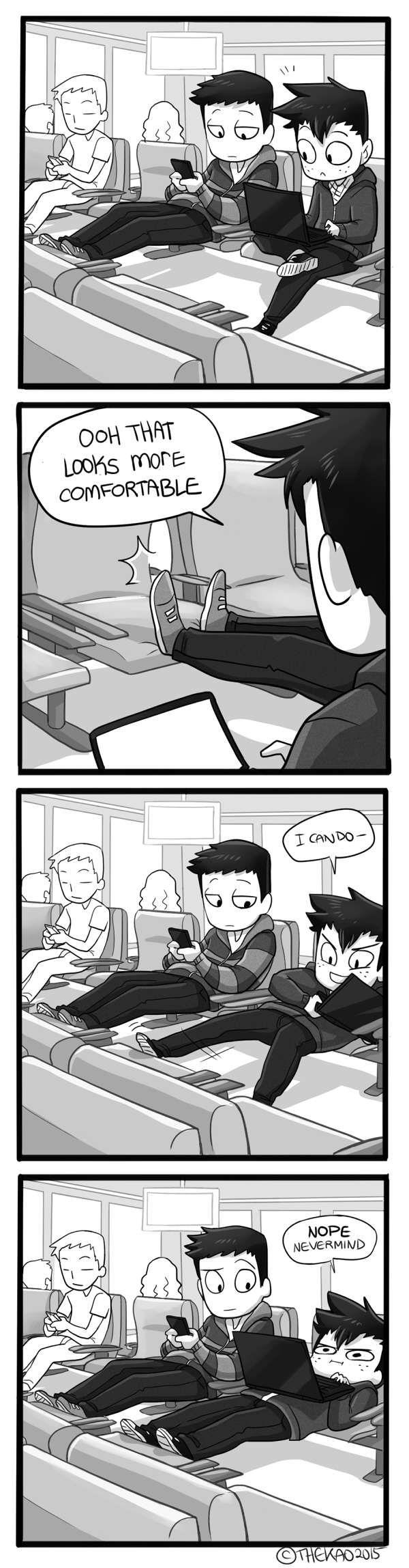 Happens to me too often... From: Mondo Mango :: Short Legs   Tapastic Comics - image 1