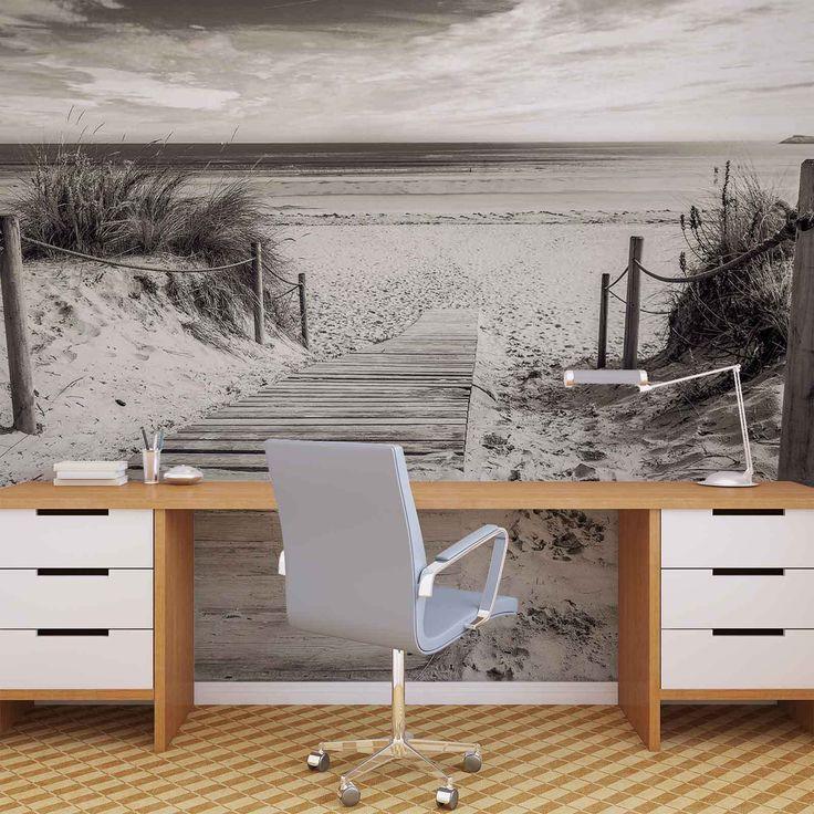 Fototapete vlies fotomural xxl weg strand sand natur 2024ws
