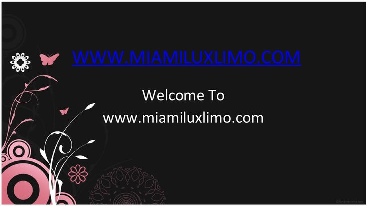 Go and Get Miami Airport Car Service