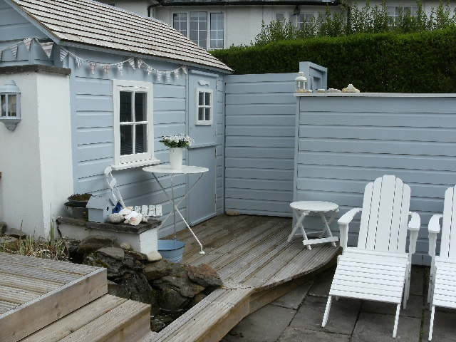 My Client Wanted A Nautical Themed Garden Cardiff Uk Styling Es Small Gardens