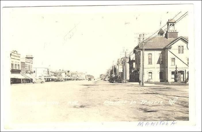 RP: Saskatchewan Avenue , Portage La Prairie , Manitoba , Canada , 30-40s