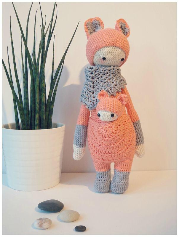 Kira la timide...  Amigurumi crochet pattern Lalylala Cam&Drey bricolent...