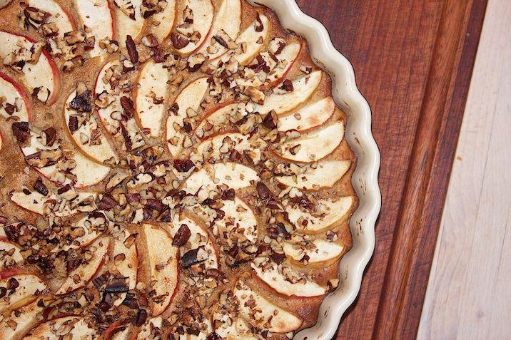Æblekage med pekanknas