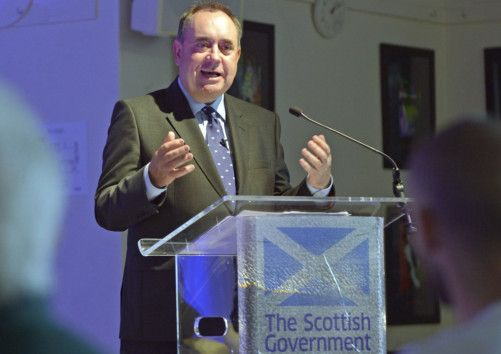 Alex Salmond says an independent Scotland would have taken action against Syria. Picture: Phil Wilkinson