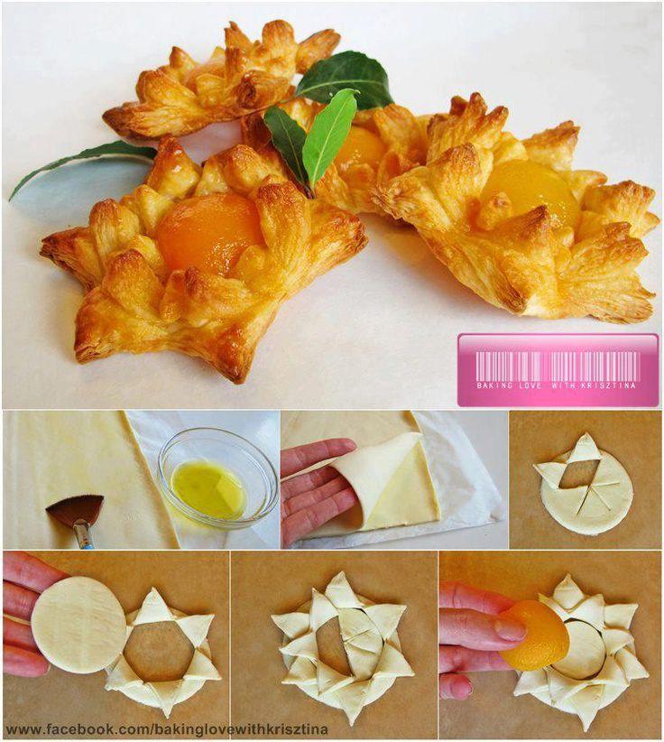 Sunflower pastry