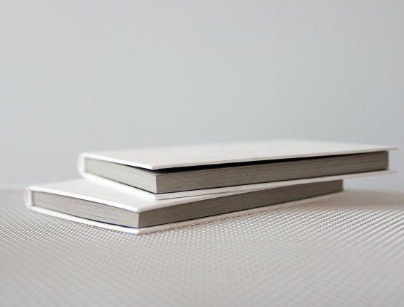 Small Tyvek® Hardcover Notebook  Sketchbook  Journal by knotbooks