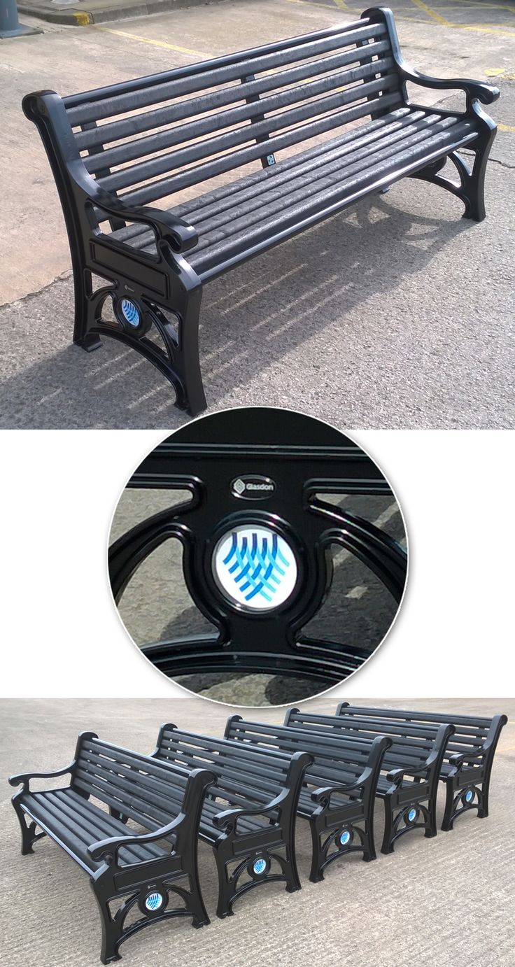 A set of Stanford™ Seats personalised for Mid & East Antrim Borough Council