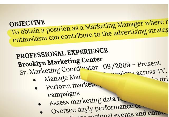 Sample Objective Statements for Your Resume: A resume objective should match the job for which you are applying.