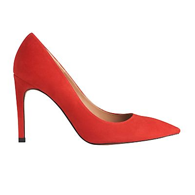 WHISTLES Cornel Stiletto Heeled Court Shoes £140 - Hit the 80's high notes in a slinky siren red stiletto heel