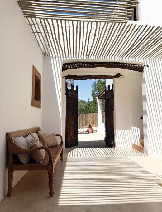 country white decor spain | Rustic summer villa | Interior Design and Home Decor