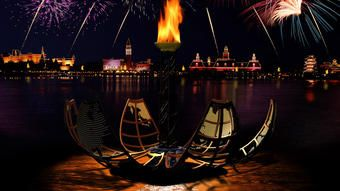 Fast Pass Booked Friday 10/28/16 - IllumiNations: Reflections of Earth at Epcot (firework show at 10pm)