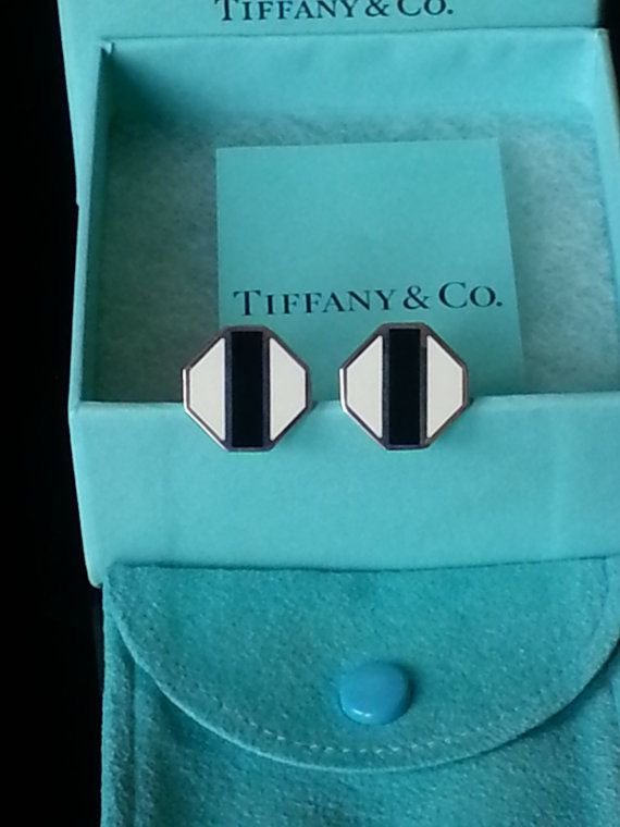 TIFFANY & CO. Cuff Links  Zellige Sterling Silver  Picasso