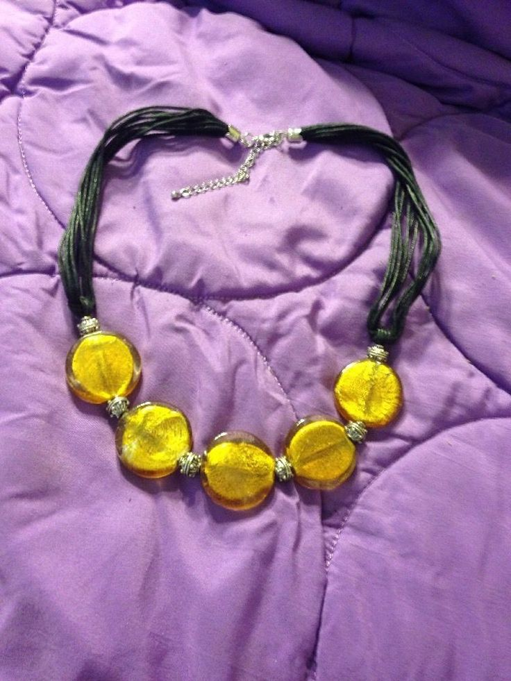 Cute Yellow Necklace