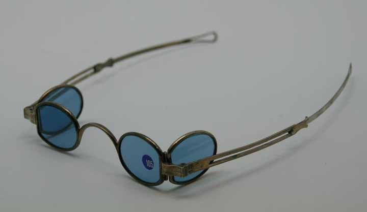 Cool Georgian c.1800-10 silver metal eyeglasses with ...