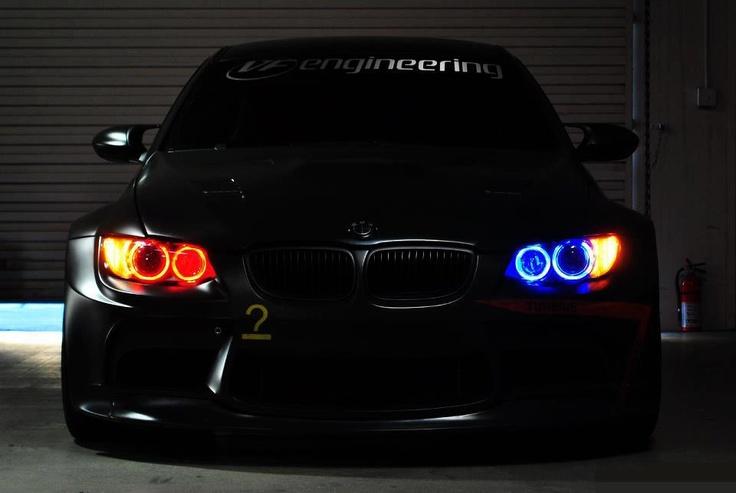 Car angel eyes light-9424