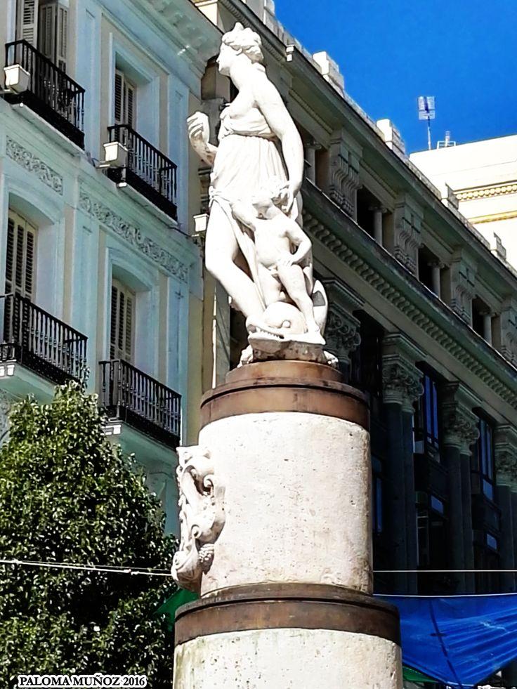 190 best madrid mitol gico mythological madrid images on for Plaza de la puerta del sol