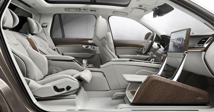 把豪华商务舱搬进车里 沃尔沃展示全新xc90 豪华内饰及excellence 版本 理想生活实验室 Volvo Xc90 Volvo Luxury Car Interior