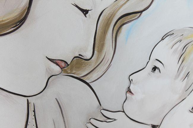 Capezzali moderni stilizzati dipinti con effetti materici in foglia argento i rilievo. Quadri moderi per camera da letto dipinti su misura