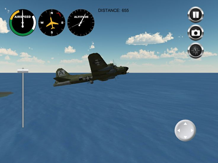 Airplane! Adventures Hawaii; I had played Pilot a long time back from the same crowd which wasn't bad, if simple, and while this one won't become a flight sim of note it is not bad as free apps go. There are better ones out there.