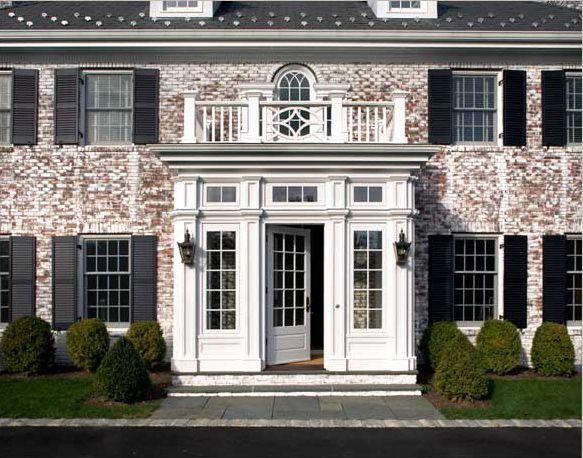 161 best Paint My Brick House? images on Pinterest   Exterior ...