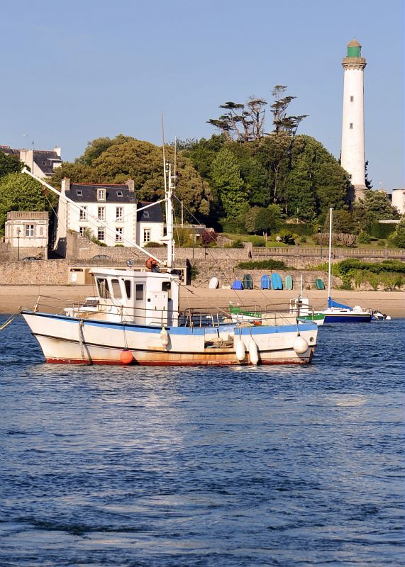 © Fred Tanneau - Région Bretagne / Port de Sainte-Marine #Bretagne #Port #Combrit