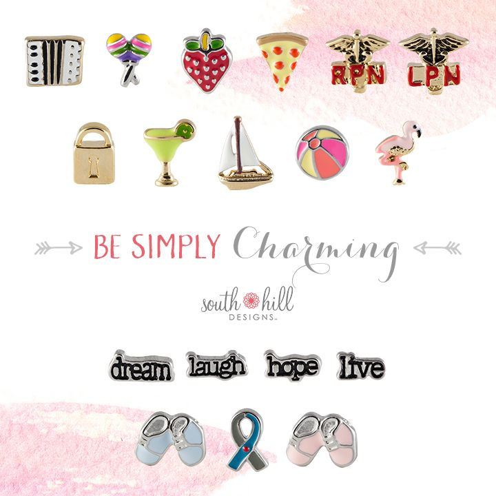 Be simple charming with our newest Charms! #charms #lockets