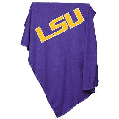 Logo Chairs NCAA Sweatshirt Blanket NCAA Team: LSU
