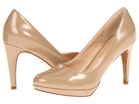 Cole Haan Chelsea Pump Sandstone Patent - Zappos.com Free Shipping BOTH Ways