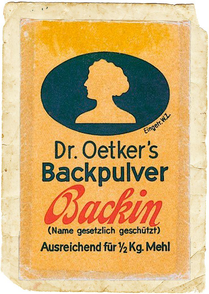 Dr. Oetker´s Backin-Tütchen: 1933; Historische Sammlung Dr. Oetker