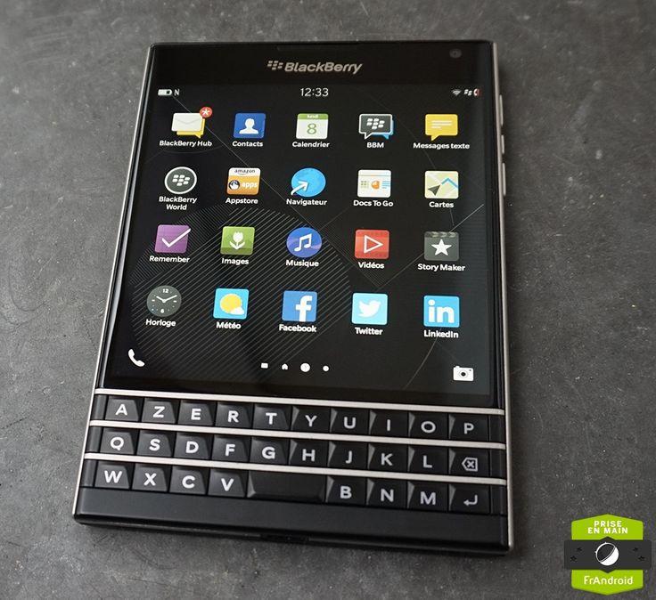 Balckberry PassPort, smartphone de gamme taillé pour la productivité (FrAndroid, 13 décembre 2014)