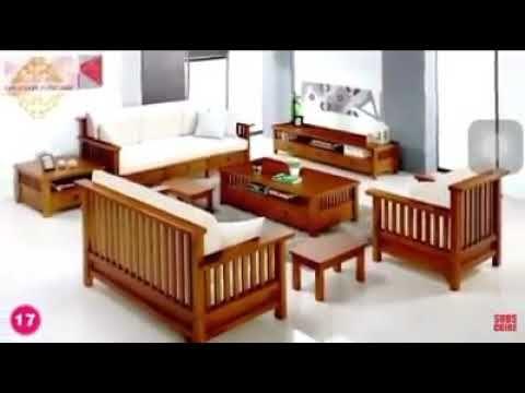 32+ model kursi tamu minimalis kayu jati terbaru untuk