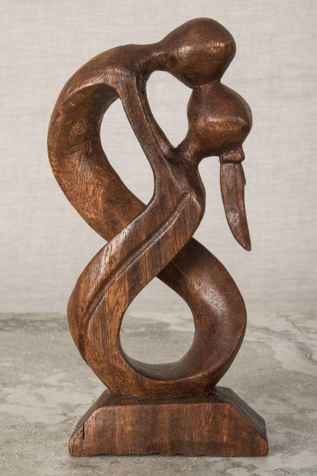 Abstract Wooden Sculpture Wooden Sculpture Wood Sculpture Art Abstract Sculpture