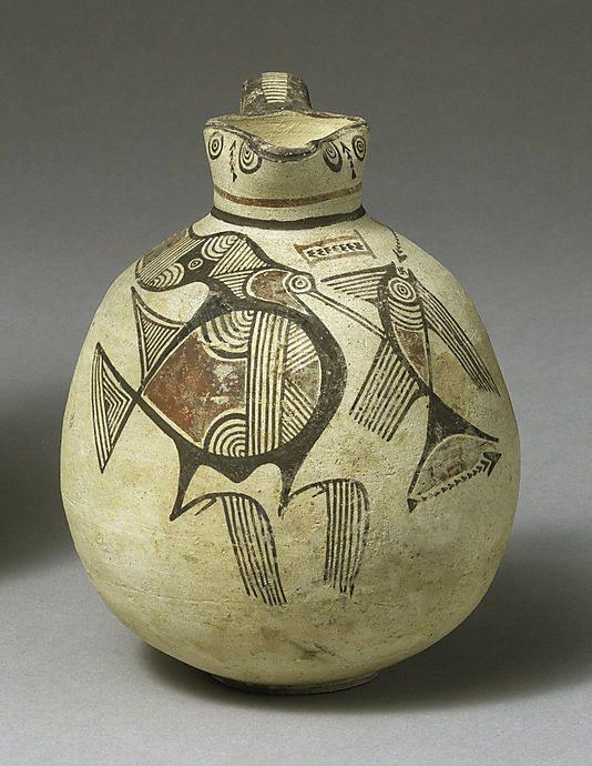 Cypriot terracotta vase, 700-650 BC