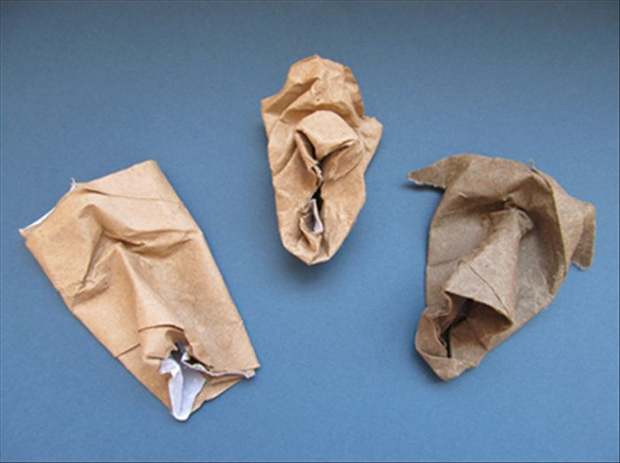 All that you need is an empty toilet paper roll.