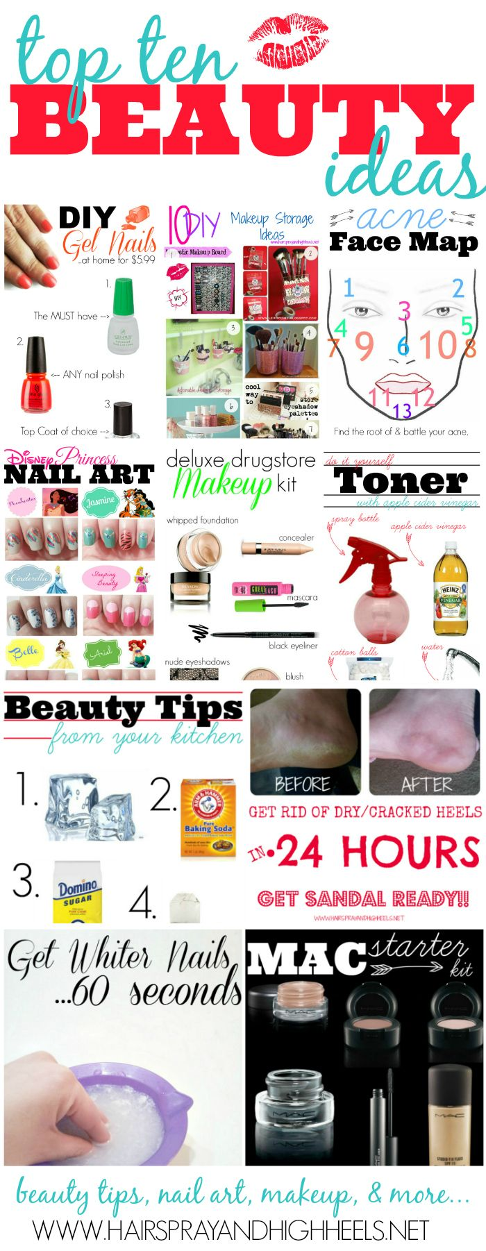 Top Ten Beauty Ideas Of 2013 – Hairspray and Highheels