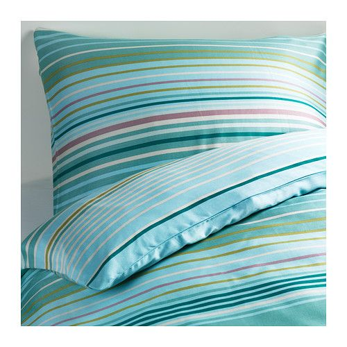 IKEA - PALMLILJA, Ágyneműhuzat-garnitúra, 150x200/50x60 cm, , A szatén-szövött pamut/lyocell ágynemű rendkívül puha és kellemes alvást biztosít, csillogásának köszönhetően pedig szépen mutat az ágyon.A lyocell száraz és kényelmes alvókörnyezetet biztosít egész éjjel, mert elszívja és elvezeti a nedvességet, így testedet kényelmesen, egyeneletes hőmérsékletben tartja. A rejtett patentnak köszönhetően helyén marad a paplan.