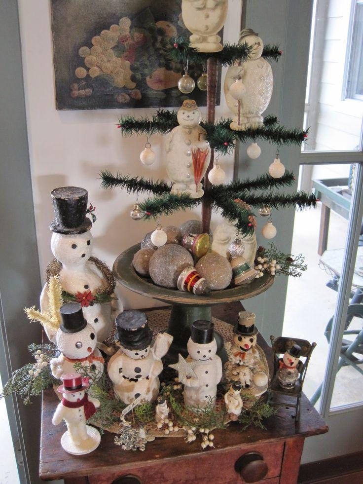 My Red Cape: Il mio albero di Natale antico preferiti mai!
