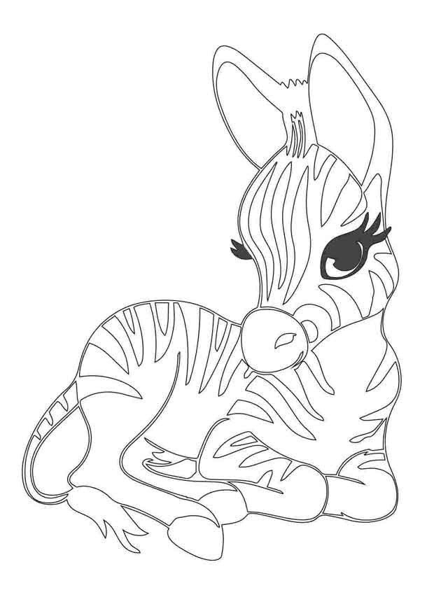 Cute Baby Animal Coloring Pages 10 Best Free Printable Baby Animal Coloring Pages For Kids In 2020 Puppy Coloring Pages Animal Coloring Pages Zebra Coloring Pages