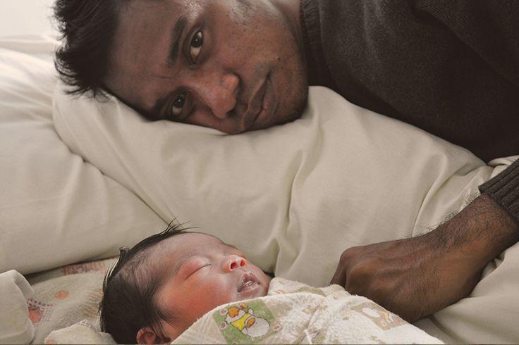 Papa senang sekali Gevia sudah bisa papa bawa dekat Papa setelah kluar dari kandungan mama | Upload by Papaces