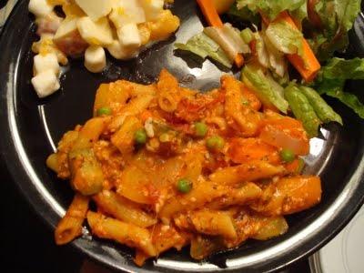 menu managed: Baked Penne with Roasted Vegetables