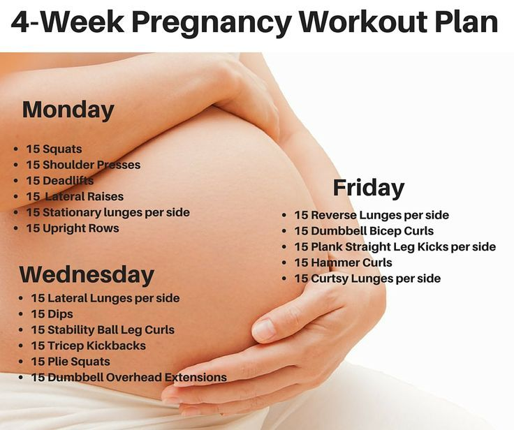 Exercise Workout Plan: Best 25+ Pregnancy Workout Plans Ideas On Pinterest