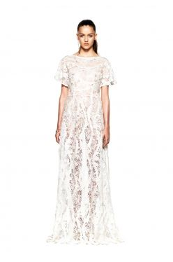 beaded lace gown / daniela-stephanie