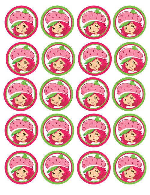 INSTANT Download Diy Printable Strawberry Shortcake by sohappyshop
