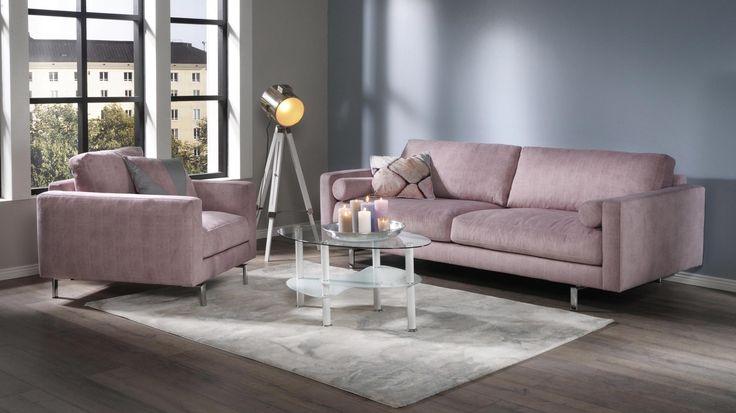 Ajanhenkiset ja tyylikkäät Montesano-sohva ja -lepotuoli täyttävät vaativammankin sisustajan odotukset.Rentoistuinmukavuusyhdistettynä...