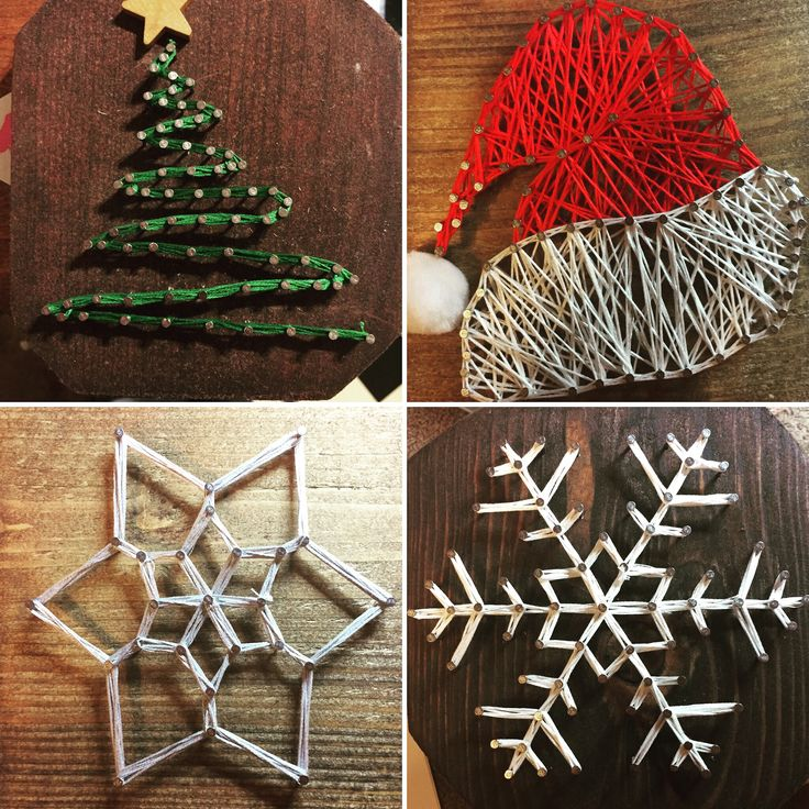15 best custom holiday string art images on pinterest string art snowflakes and christmas - String ornaments christmas ...