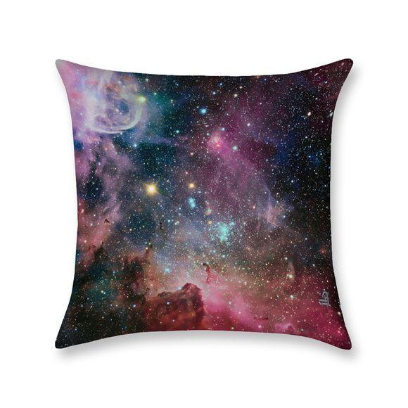 Capa De Almofada Galaxia