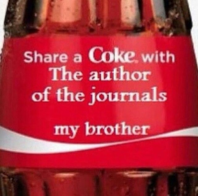 """I would love if I had a pack of Coke with nerdy geeky fandom references like """"Share a Coke with the Illuminati Dorito"""" or """"Share a Coke with the Hero of Time"""""""
